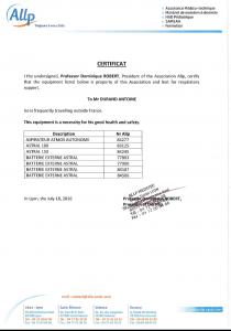 certificat-douane