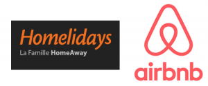 logo homelidays airbnb